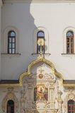 Architectural detail of entrance into the Church. Royalty Free Stock Images