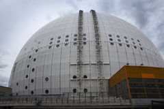 Architectural detail of the Ericsson Globe Royalty Free Stock Photography