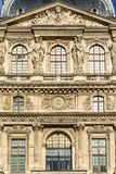 Architectural detail-exterior facade Royalty Free Stock Photo