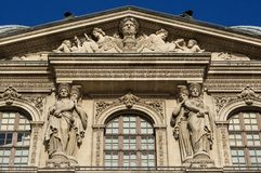 Architectural detail-exterior facade Royalty Free Stock Image