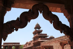 Architectural detail Fatehpur Sikri, India Royalty Free Stock Photography