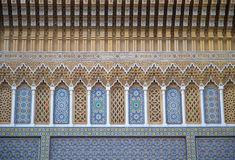 Architectural detail from Fes, Morocco Royalty Free Stock Photography