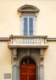 Architectural detail in Florence, Italy. Royalty Free Stock Photos