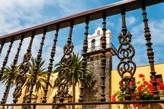 Architectural detail in Garachico, Tenerife Stock Photo