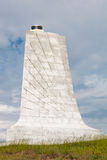 Architectural Detail of Granite Tower at Wright Brothers National Memorial Royalty Free Stock Photos
