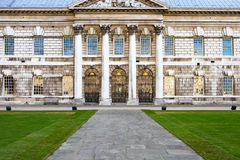 Architectural detail, Greenwich University. Royalty Free Stock Images