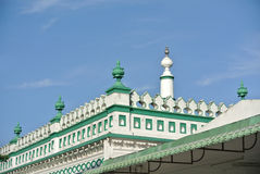 Architectural detail at The India Muslim Mosque in Ipoh, Malaysia Royalty Free Stock Images