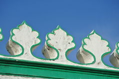 Architectural detail at The India Muslim Mosque in Ipoh, Malaysia Royalty Free Stock Photography