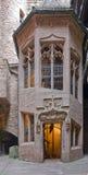 Architectural detail inside Haut-Koenigsbourg Castle Royalty Free Stock Image