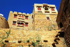 Architectural detail of Jaisalmer Fort Stock Images
