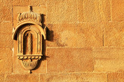 Architectural detail of Jaisalmer Fort Royalty Free Stock Images