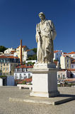 Architectural detail in Lisbon Stock Photography