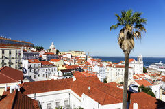 Architectural detail in Lisbon Royalty Free Stock Photos