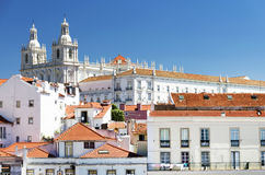 Architectural detail in Lisbon Royalty Free Stock Images
