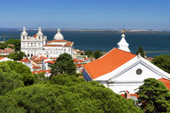 Architectural detail in Lisbon Royalty Free Stock Image