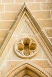 Architectural detail of Lourdes Church Stock Photos