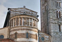 Architectural Detail of Lucca. Italy, October 2009 Stock Photography