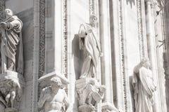 Milan, Italy - September 05, 2017: Milan Cathedral, Duomo di Milano - the gothic cathedral church of Milan. Royalty Free Stock Image