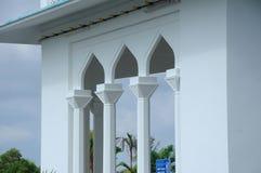 Architectural detail of Masjid Jamek Bandar Mersing Royalty Free Stock Photos