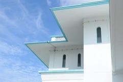 Architectural detail of Masjid Jamek Bandar Mersing Stock Photo