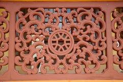 Architectural detail of Masjid Jubli Perak Sultan Ismail Petra a.k.a. Masjid Beijing Royalty Free Stock Photos