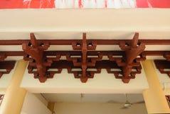Architectural detail at Masjid Jubli Perak Sultan Ismail Petra a.k.a. Masjid Beijing Stock Images