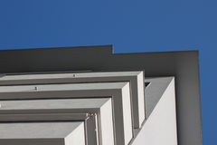 Architectural detail of a modern building Royalty Free Stock Photography