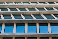 Architectural detail of a modern building Royalty Free Stock Photos