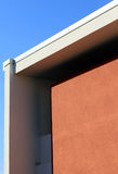 Architectural detail of a modern building Royalty Free Stock Photo