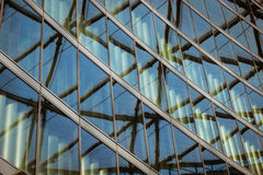 Architectural detail of a modern building Stock Image