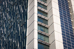 Architectural detail of a modern building Stock Photo
