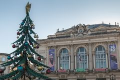 Free Architectural Detail Of The Montpellier Opera Orchestra Montpellier Occitanie Royalty Free Stock Images - 163203369