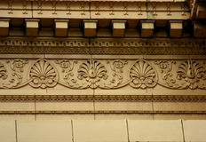 Architectural detail from the old Elks Lodge Hall. Stock Images
