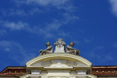 Architectural detail 2. Architectural detail on an old historic building royalty free stock photography
