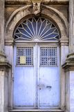 Architectural detail, old ornate door Stock Photos