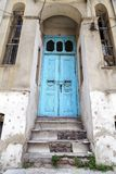 Architectural detail, old ornate door Stock Photography