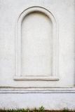 Architectural detail. Detail of an old white cement wall texture Royalty Free Stock Photo