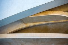 Architectural detail of the opera house in Valencia, Spain royalty free stock images