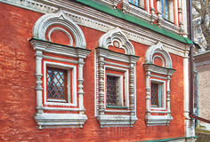 Architectural detail of the  Orthodox church. Royalty Free Stock Image