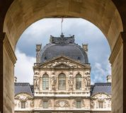 Architectural detail in Paris. Royalty Free Stock Image
