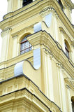 Architectural detail of Peter and Paul Cathedral in Saint Petersburg, Russia Stock Photo