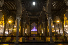 Architectural detail - plaza de espana Seville, Andalusia, Spain. Royalty Free Stock Photos
