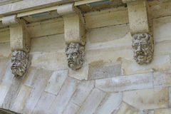 Architectural Detail of Pont Neuf Royalty Free Stock Image