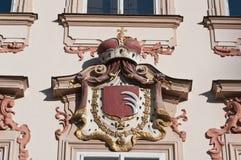 Architectural detail, Prague,Czech republich Stock Image