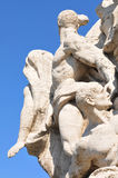 Architectural detail in Rome, Italy royalty free stock photography