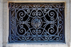 Architectural detail of the royal palace Stock Photo