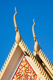 Architectural detail of the Royal Palace Stock Image