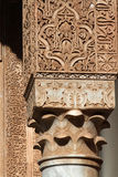 Architectural detail of Saadian tombs Stock Photos