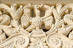 Architectural detail at Sambata Monastery Royalty Free Stock Photo