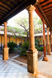 Architectural detail in San Cristobal de la Laguna Royalty Free Stock Image